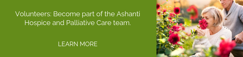 Become a Ashanti Hospice Volunteer